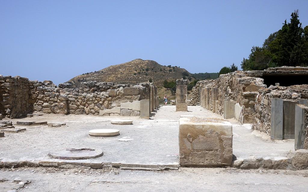Phaistos: the 'Vestibule' or display area
