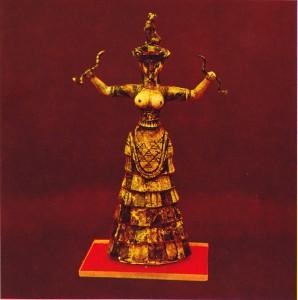 Knossos: snake goddess