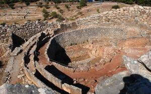 Mycenae: grave circle