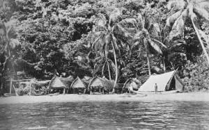 Ethnographer's tent