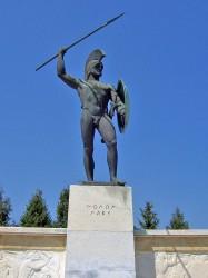 Leonidas statue, Wiki