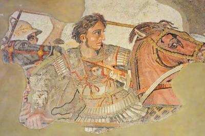 Alexander mosaic detail