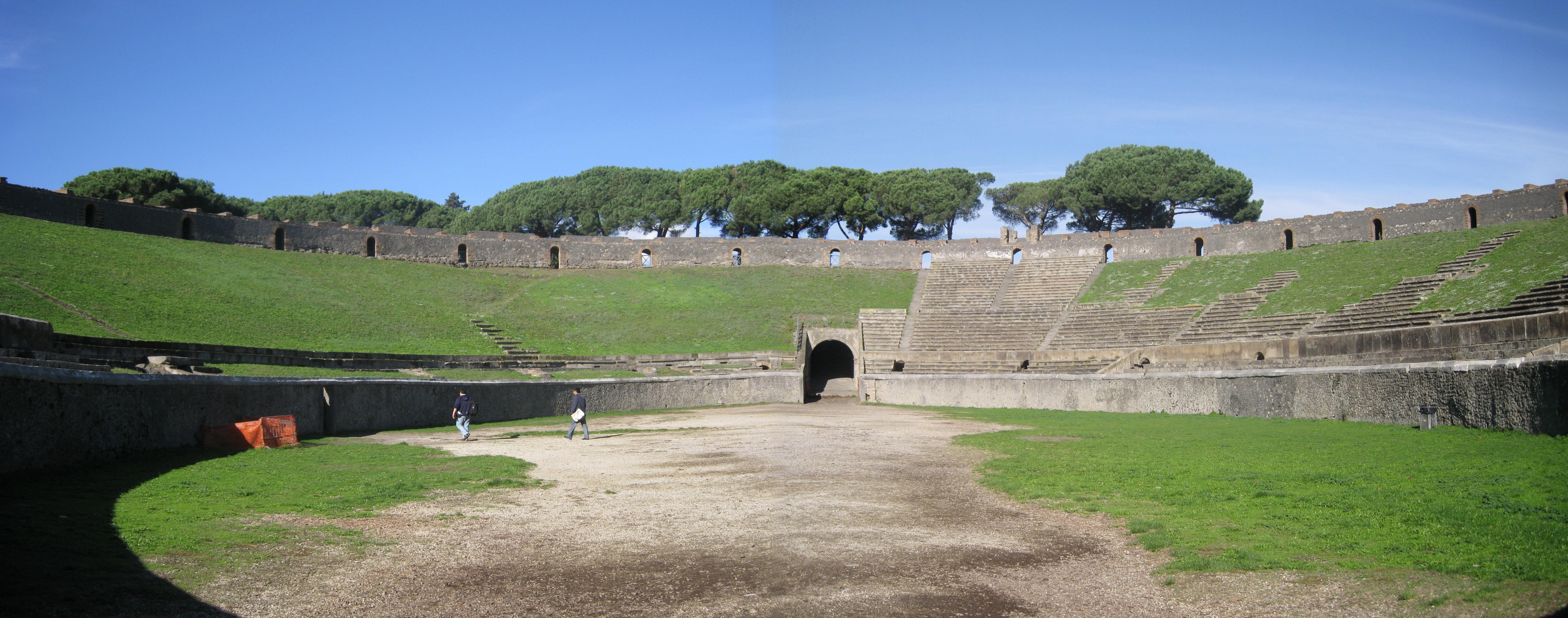 Pompeii Amphitheatre