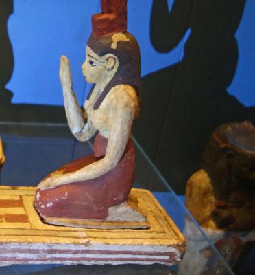 Isis, Egyptian goddess.