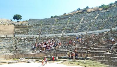 Ephesus theatre panorama