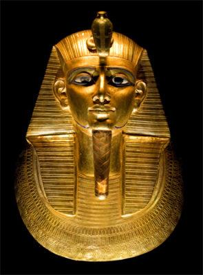 Gold mask of Psusennes I