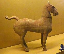 Han Pottery  Horse P910