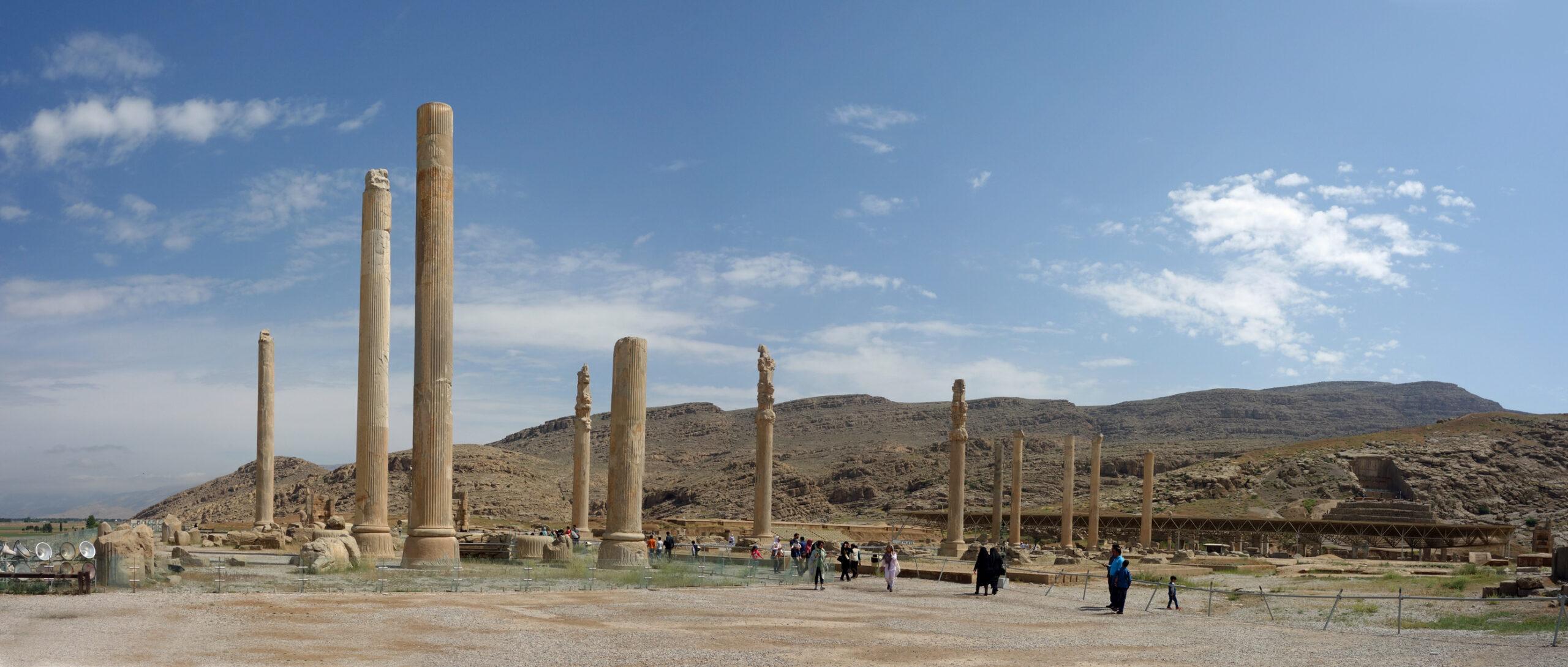 Persepolis: general view of Great Hall