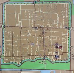 Pingyao map 1298