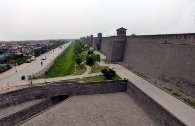 Pingyao walls exterior 0789
