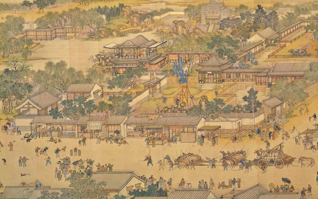 Qingming by Zhang Zeduanb Along_the_River_detail