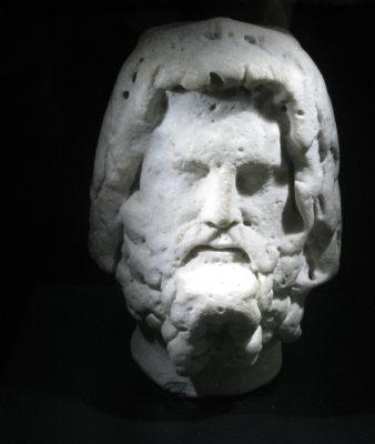 Serapis, Egyptian god.