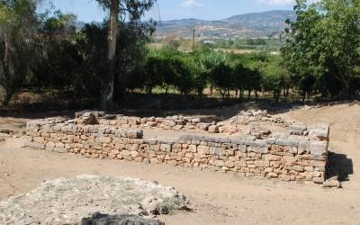 The temple of Artemis Orthia at Sparta