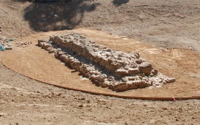 The flogging altar of Artemis Orthia at Sparta