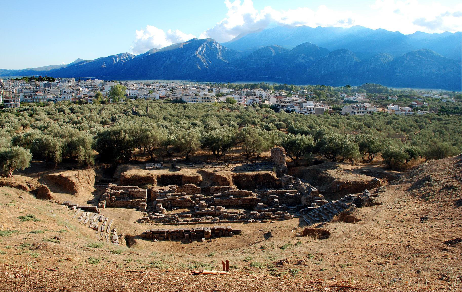 Sparta -Roman Theatre