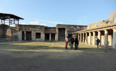 Pompeii: Stabian baths Palaestra