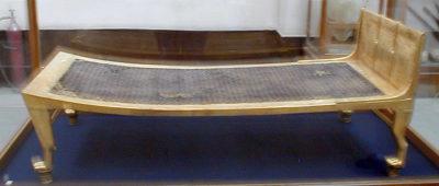 Bed from Tutankhamun's tomb