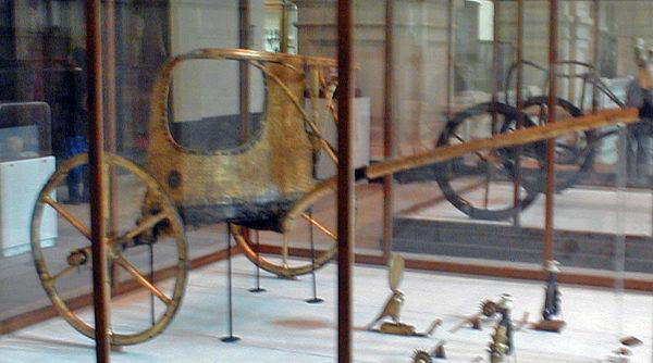 Chariot from Tutankhamun's tomb